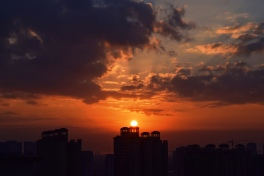 Sunrise in 大亞灣