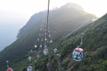 cable cars at Ocean Park