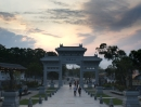 Sunset at Ngong Ping.